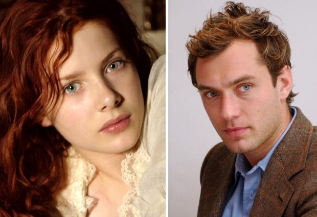 Самые красивые в мире люди. Великобритания. Рейчел Клэр Херд-Вуд (Rachel Hurd-Wood) и Джуд Лоу (Jude Law).