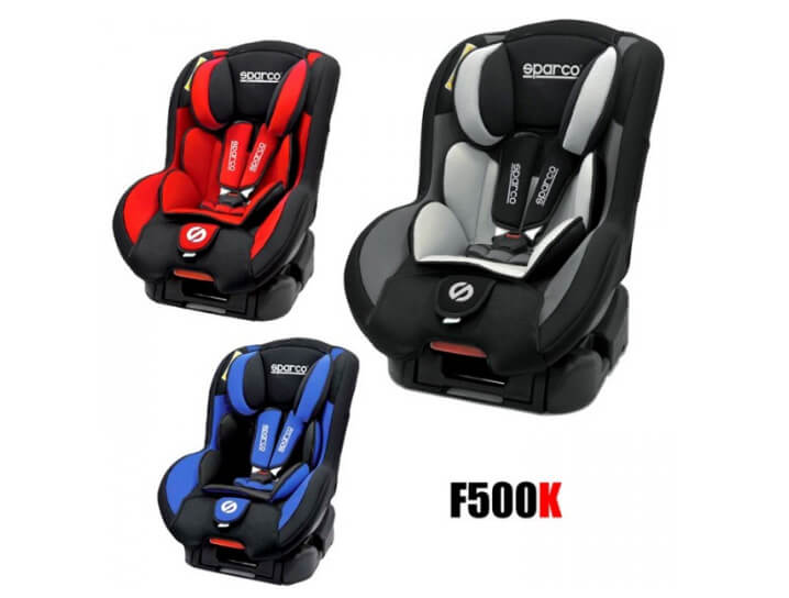 Sparco F500K. Лучшие автокресла для детей.