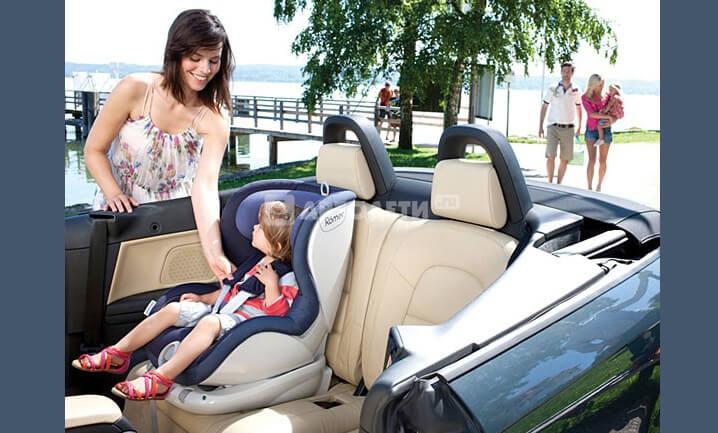BRITAX RÖMER Dualfix. Лучшие автокресла для детей.