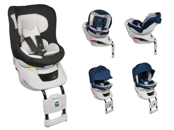 Carmate Kurutto NT2 Premium. Лучшие автокресла для детей.