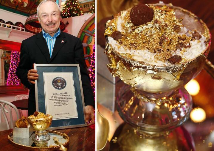 Мороженное «Frozen hot chocolate» - 25,000$. Самые дорогие блюда.