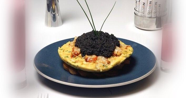 Lobster Frittata – 1 000$. Самые дорогие блюда в мире.