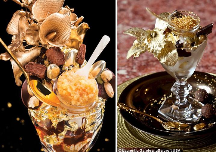 Пломбир «Golden Opulence» стоимостью 1000$. Самые дорогие в мире блюда.