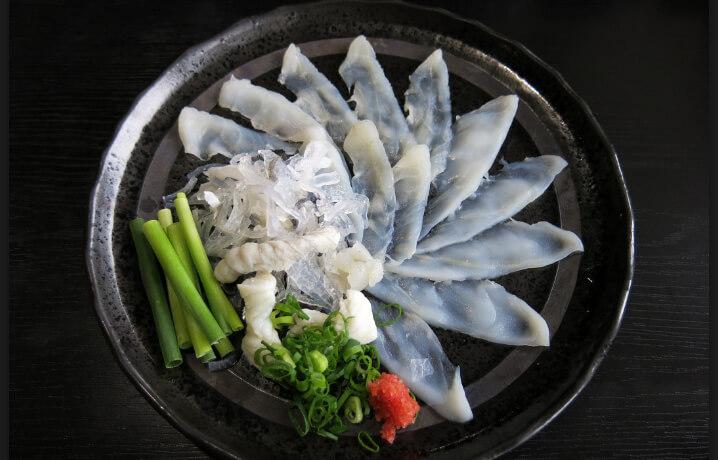 Самые дорогие в мире рыбы. Приготовленная рыба Фугу.