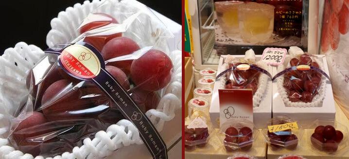 Виноград сорта «Римский рубин»