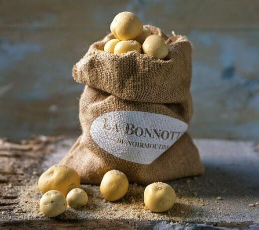 картофель «La Bonnotte». 600$. Самые дорогие продукты.