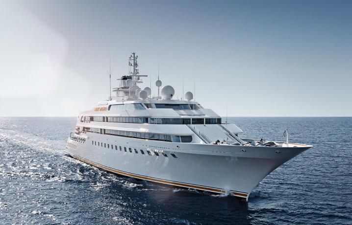 10 самых дорогих яхт в мире. Lady Moura.