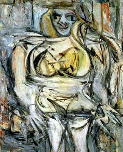 $137,5 млн. Виллем де Кунинг «Женщина III», 1953. Самые дорогие картины 2016 -2017.