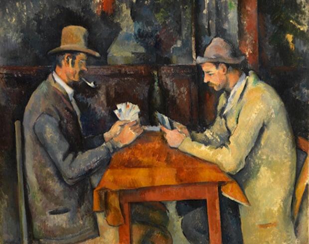 $259 млн. Поль Сезанн «Игроки в карты», 1895. Самые дорогие картины.
