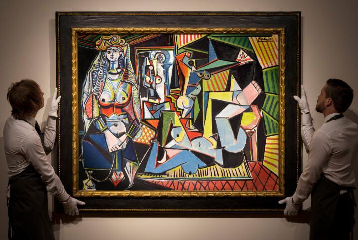 $179,365 млн. Пабло Пикассо «Алжирские женщины (версия О)», 1955. Самые дорогие картины.