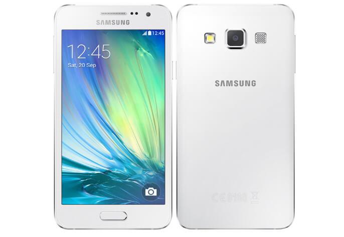 Samsung Galaxy A3. Лучшие женские смартфоны.
