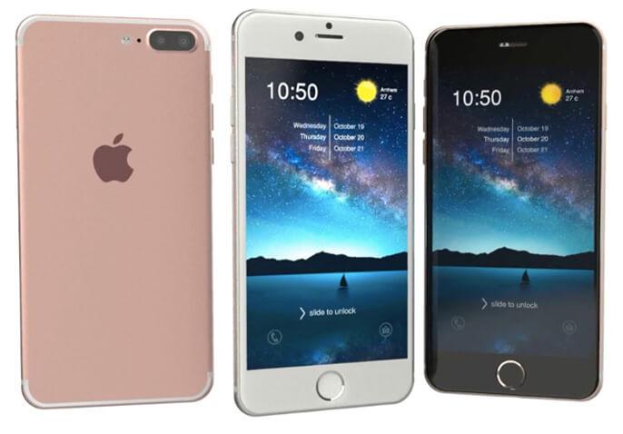 Apple iPhone 7 Plus 128Gb. Лучшие женские смартфоны.