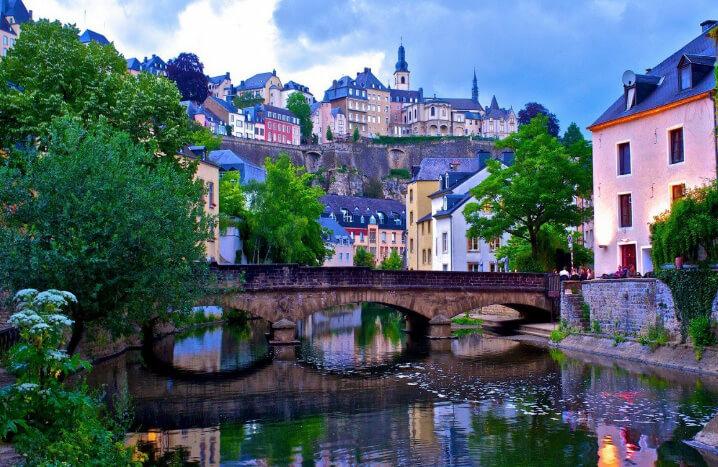 Люксембург. Самые дорогие для проживания страны. Топ-10.