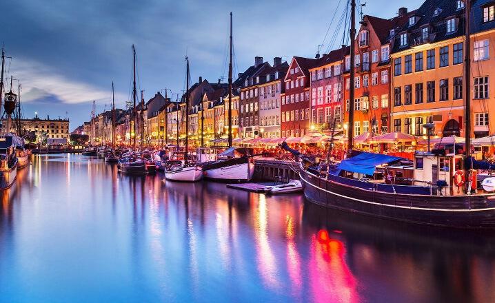 Дания. Копенгаген. Самые дорогие для проживания страны. Топ-10.