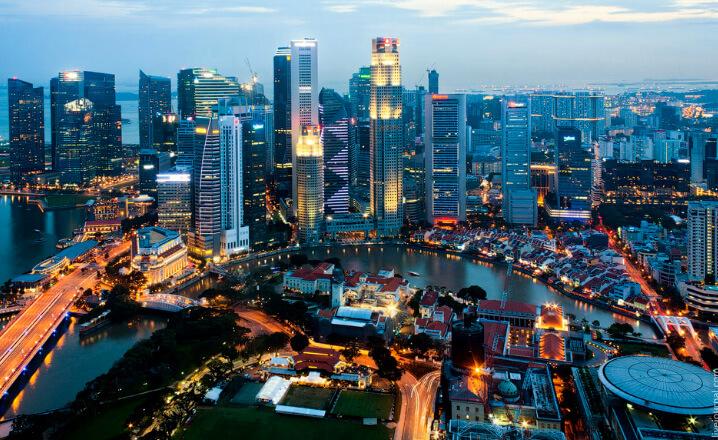Сингапур. Самые дорогие для проживания страны. Топ-10.