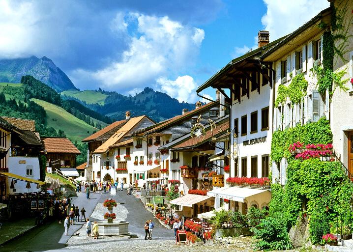 Грюйер (Gruyeres), Швейцария. Самые дорогие для проживания страны. Топ-10.