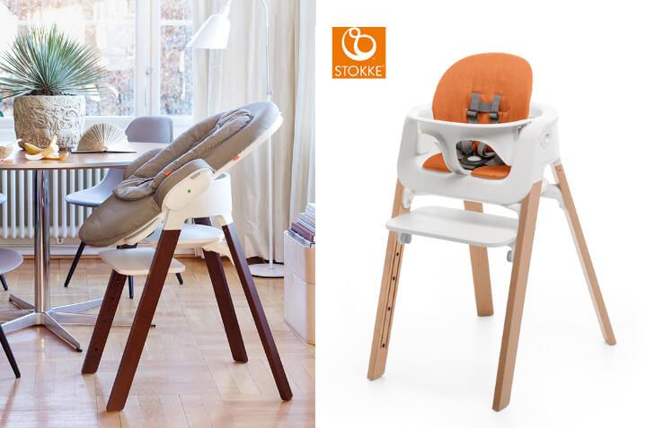 Stokke Steps Chair. Стульчик для кормления. Рейтинг лучших 2016 - 2017.