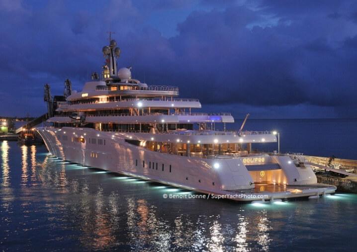 Eclipse («Затмение»). 10 самых дорогих яхт в мире.