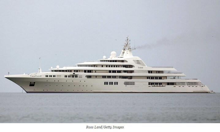 Dubai. 10 самых дорогих яхт в мире.