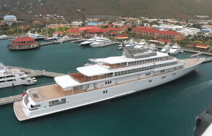 10 самых дорогих яхт в мире. The Rising Sun («Восходящее Солнце»)