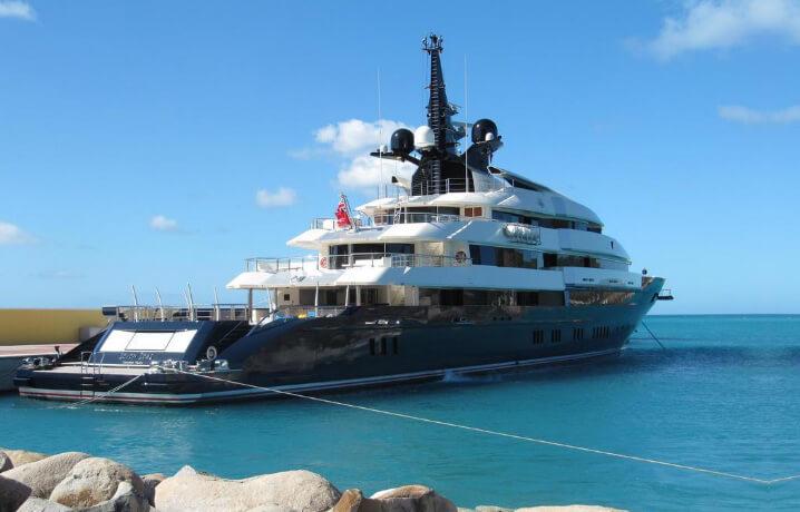 """10 самых дорогих яхт в мире. Seven Seas (""""Семь морей»)"""