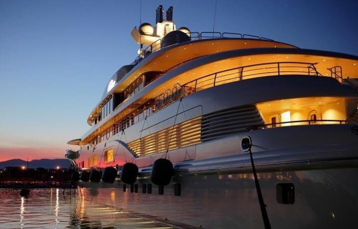 """Яхта """"Ona"""". 10 самых дорогих яхт в мире."""