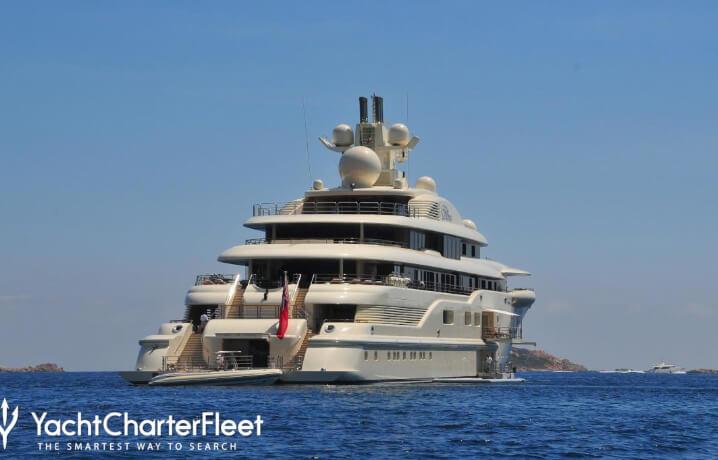 Ona. 10 самых дорогих яхт в мире.