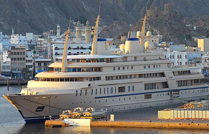 «Аль-Саид». 10 самых дорогих яхт в мире.