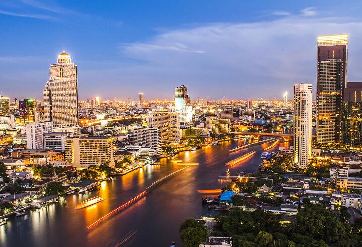 Бангкок, Таиланд. Самые жаркие города мира.