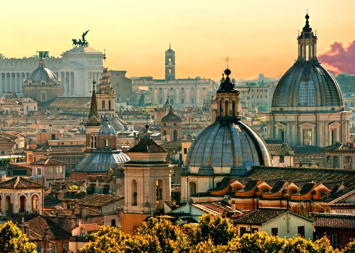 Рим. Самые красивые города мира.