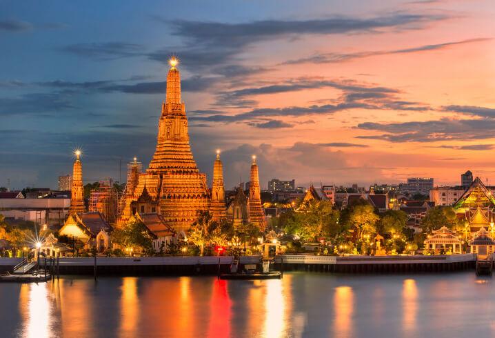 Бангкок. Самые красивые города мира.