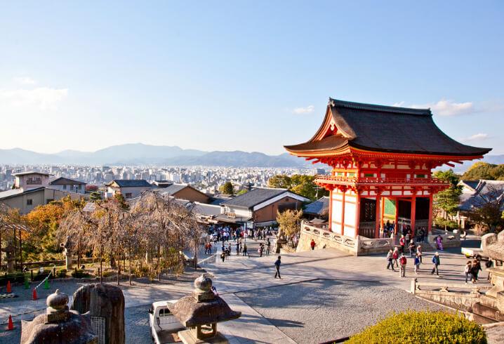 Киото, Самые красивые города мира.