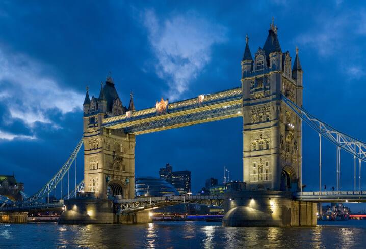 Лондон. Мост Тауэр. фото - en.wikipedia. Самые красивые города мира.