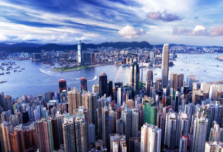 Гонконг. Самые красивые города мира.