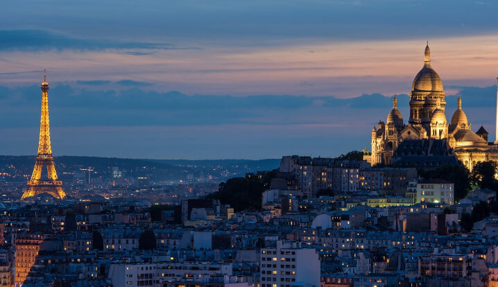 Париж. Самые красивые города мира.