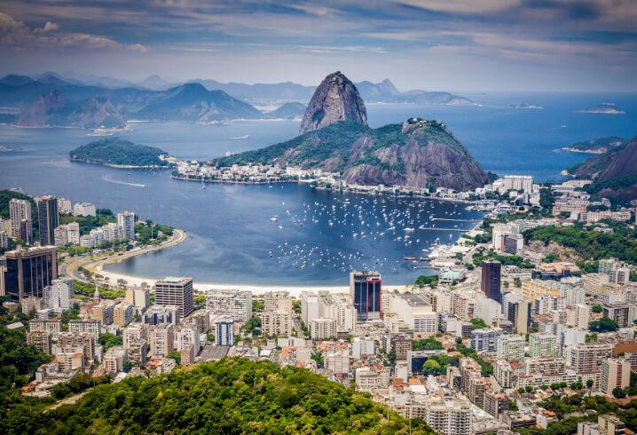 Рио де Жанейро. Самые красивые города мира.