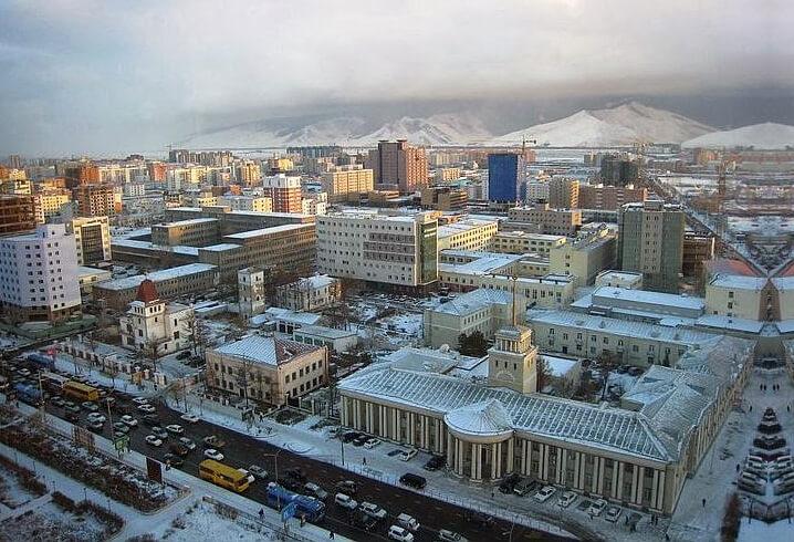 Улан-Батор. Монголия. Самые холодные города мира.