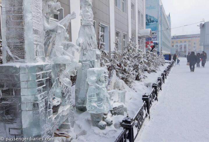 Якутск. Самые холодные города России.