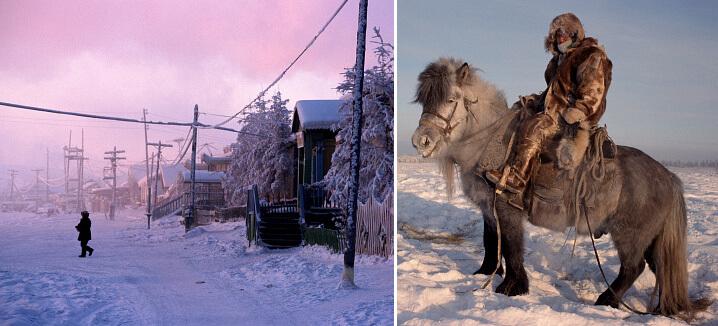 Верхоянск. Самые холодные города мира.