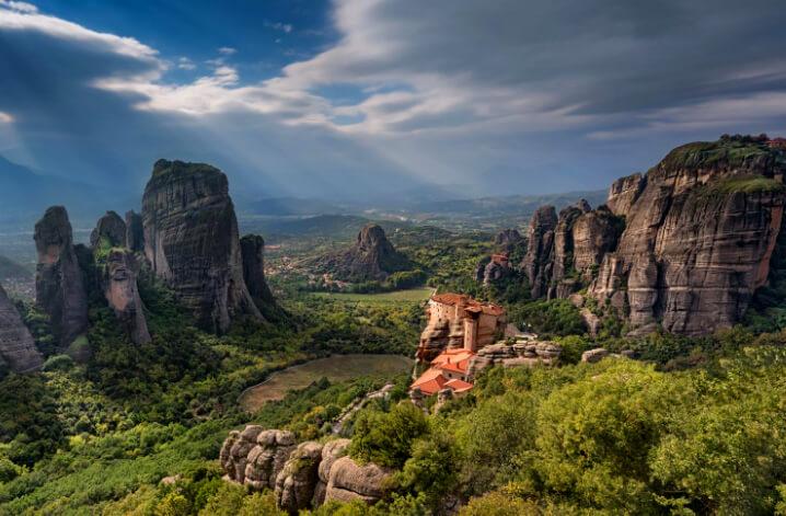 Дельфы – Монастыри Метеора, Греция. Delphi - Meteora Monasteries.