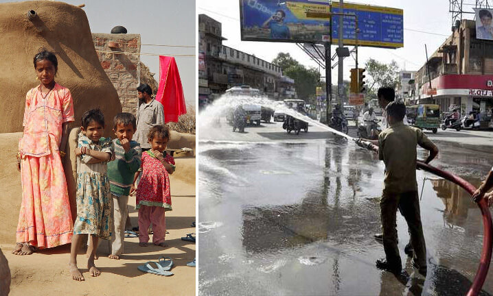 Пхалоди, Индия. Самые жаркие города мира.