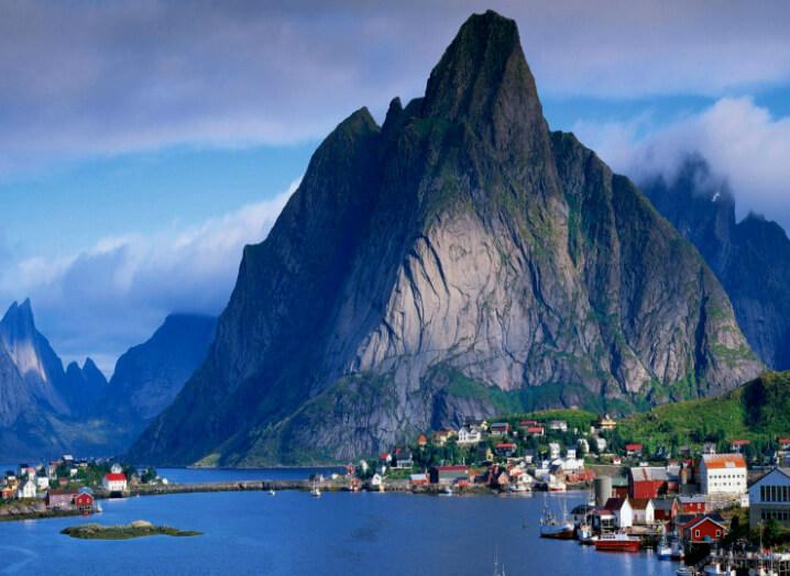Рейне в Норвегии. Reine, Norway.