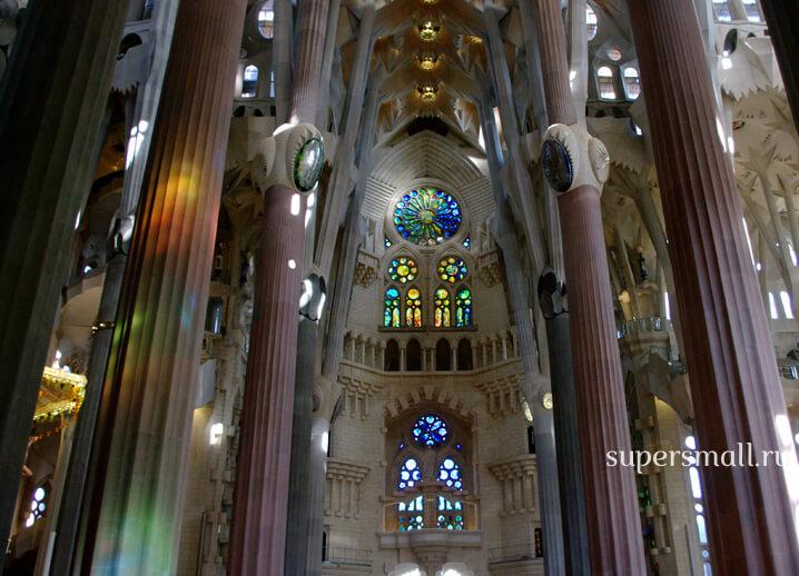 Саграда Фамилия, Барселона, Испания. Sagrada Familia, Spain.