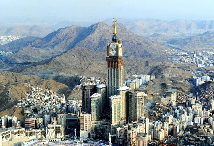 Мекка, Саудовская Аравия. Самые жаркие города мира.