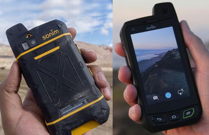 Sonim XP7. лучший защищенный смартфон.