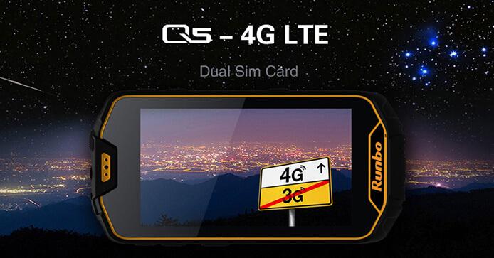 Runbo Q5 LTE. лучшие защищенные смартфоны.