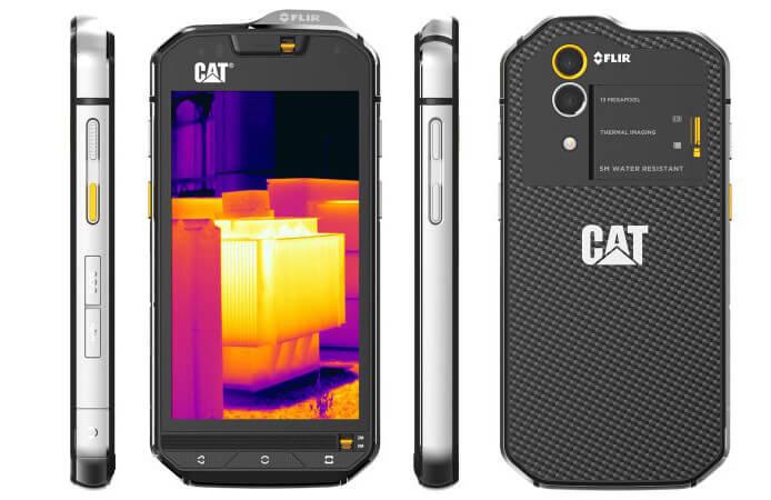 Caterpillar S60. лучшие защищенные смартфоны