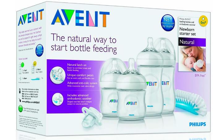 Бутылочки Philips AVENT. Лучшие бутылочки для кормления новорожденных.