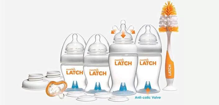 Бутылочки Munchkin Latch. Лучшие бутылочки для кормления малышей.
