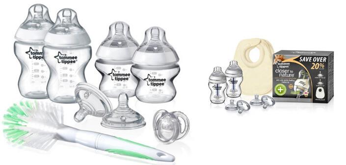 Бутылочки Tommee Tippee. Лучшие бутылочки для кормления новорожденных.